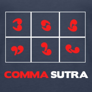 COMMA SUTRA Tanks - Women's Premium Tank Top
