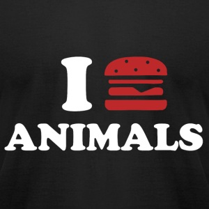 I LOVE ANIMALS T-shirts - T-shirt pour hommes American Apparel