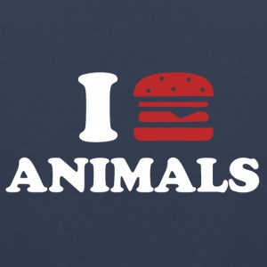 I LOVE ANIMALS Tank Tops - Men's Premium Tank