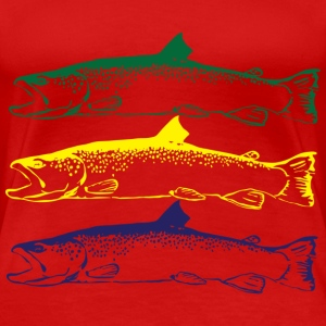 Trout - Women's Premium T-Shirt