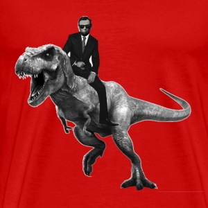 Jurrasic Abe - Men's Premium T-Shirt