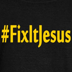Fix It Jesus wideneck sweatshirt - Women's Wideneck Sweatshirt
