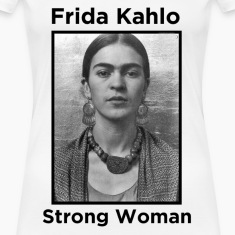 Frida Kahlo Strong Woman 2 Women's T-Shirts