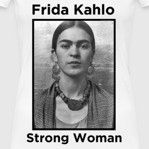 Frida Kahlo Strong Woman 2 Women's T-Shirts - Women's Premium T-Shirt