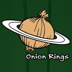 Onion Rings - The rings of onion planet Hoodies