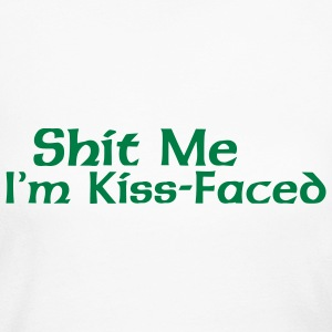 Funny Irish Kiss Me  Long Sleeve Shirts - Women's Long Sleeve Jersey T-Shirt