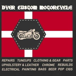 Dyer Cycle w/ flag T-Shirts - Baseball T-Shirt
