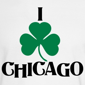 I Shamrock Irish Chicago Long Sleeve Shirts - Men's Long Sleeve T-Shirt