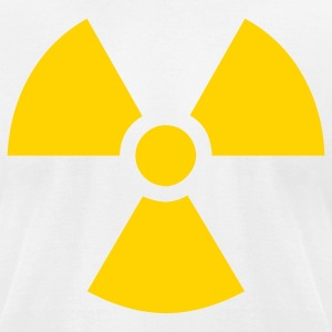 Radioactive Symbol T-Shirts - Men's T-Shirt by American Apparel