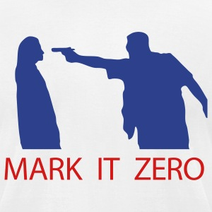 Lebowski Mark it Zero T-Shirts - Men's T-Shirt by American Apparel