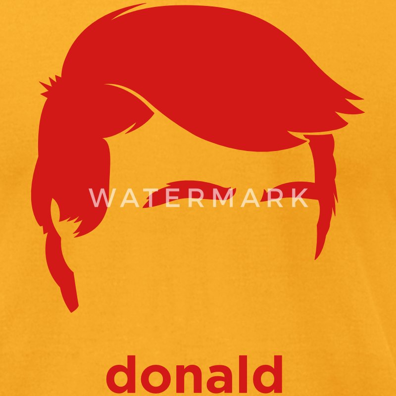 Donald Trump's Hair T-Shirts - Men's T-Shirt by American Apparel