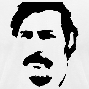 Pablo Escobar Silhouette T-Shirts - Men's T-Shirt by American Apparel