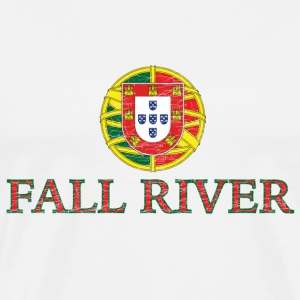 Fall River Portugal Portuguese Flag T-Shirts - Men's Premium T-Shirt