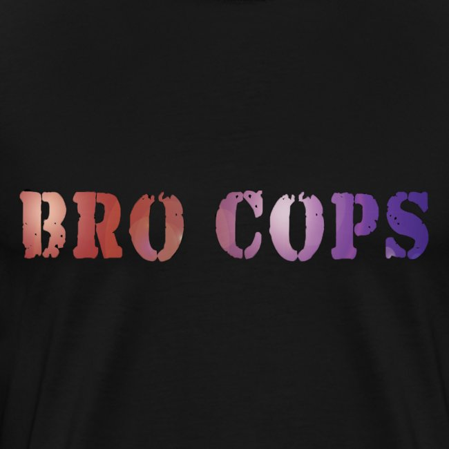 Bro Cops T-Shirt - Men's