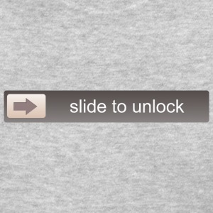 slide to unlock Women's T-Shirts - Women's T-Shirt
