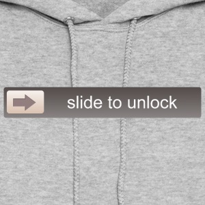 slide to unlock Hoodies - Women's Hoodie