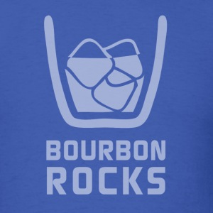 Bourbon Rocks - Mens - Men's T-Shirt