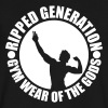 V-Neck T-Shirt Ripped Generation - Men's V-Neck T-Shirt by Canvas
