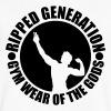 V-Neck T-Shirt Ripped Generation - Men's V-Neck T-Shirt by Canvas