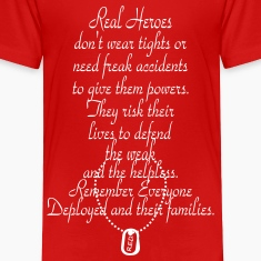 Real Heroes R.E.D. Baby & Toddler Shirts