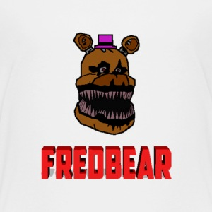 FNAF 4: Cartoon Fredbear Kids' Shirts - Kids' Premium T-Shirt