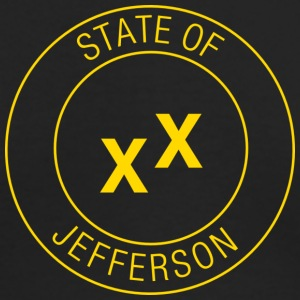 State of Jefferson Long Sleeve Shirts - Men's Long Sleeve T-Shirt by Next Level