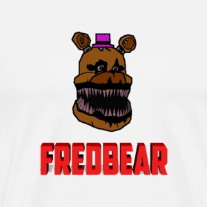 FNAF 4: Cartoon Fredbear T-Shirts - Men's Premium T-Shirt