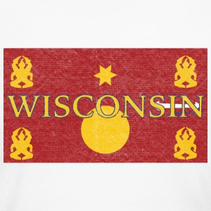 Wisconsin Hmong Flag Long Sleeve Shirts - Women's Long Sleeve Jersey T-Shirt