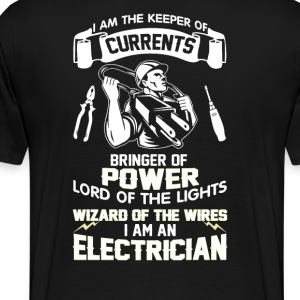 I AM AN ELECTRICIAN - Men's Premium T-Shirt