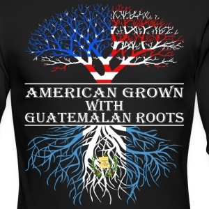 American Grown With Guatemalan Roots - Men's Long Sleeve T-Shirt by Next Level