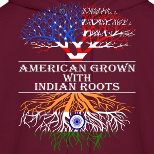 American Grown With Indian Roots - Men's Hoodie