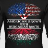 American Grown With Hungarian Roots - Men's Long Sleeve T-Shirt by Next Level