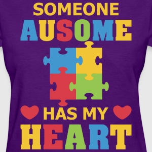 Some Ausome Has My Heart - Women's T-Shirt