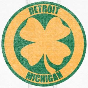 Detroit Irish Four Leaf Clover Hoodies - Women's Hoodie