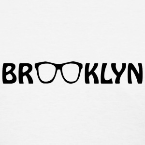 Brooklyn Hipster Glasses Women's T-Shirts - Women's T-Shirt
