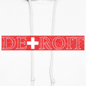 Detroit Switzerland Swiss Flag Hoodies - Women's Hoodie