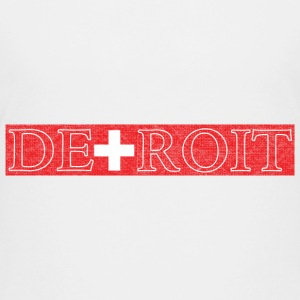 Detroit Switzerland Swiss Flag Kids' Shirts - Kids' Premium T-Shirt