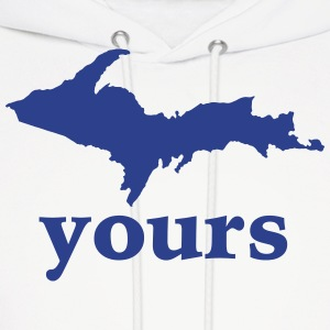 Up Your Vector Funny Upper Peninsula  Hoodies - Men's Hoodie