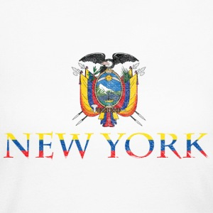 New York Ecuador Pride Flag Long Sleeve Shirts - Women's Long Sleeve Jersey T-Shirt