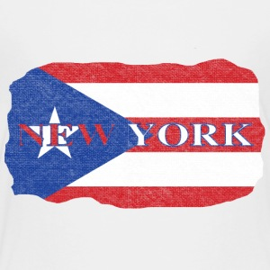 New York Puerto Rico Rican Flag Baby & Toddler Shirts - Toddler Premium T-Shirt
