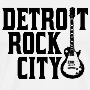 Detroit Rock City Guitar T-Shirts - Men's Premium T-Shirt