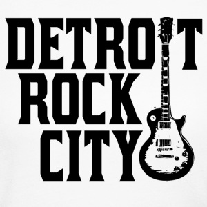 Detroit Rock City Guitar Long Sleeve Shirts - Women's Long Sleeve Jersey T-Shirt