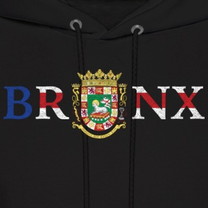 Bronx Puerto Rico Pride New York Flag Hoodies - Men's Hoodie