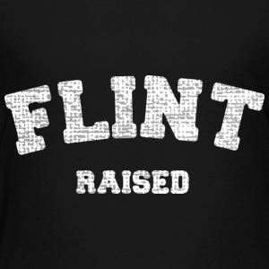 Flint Raised Michigan Pride Kids' Shirts - Kids' Premium T-Shirt