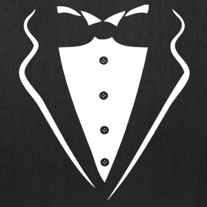 TUXEDO SMOKING SHIRT Bags & backpacks - Tote Bag