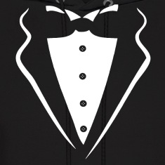 TUXEDO SMOKING SHIRT Hoodies