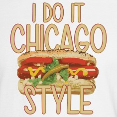 Funny Do It Chicago Style Hot Dog Long Sleeve Shirts