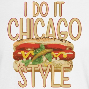 Funny Do It Chicago Style Hot Dog Long Sleeve Shirts - Men's Long Sleeve T-Shirt