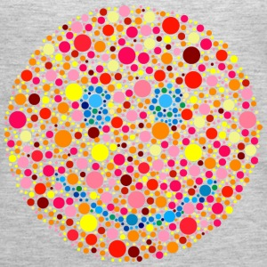 Color Blind Smiley Tanks - Women's Premium Tank Top