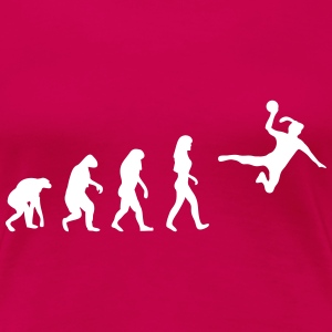 handball evolution Women's T-Shirts - Women's Premium T-Shirt